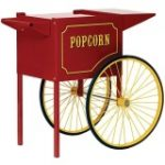 Paragon cart for Theatre Pop popcorn machine