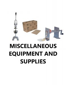 Concession Equipment Supplies