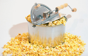 Whirley Pop stovetop popcorn maker